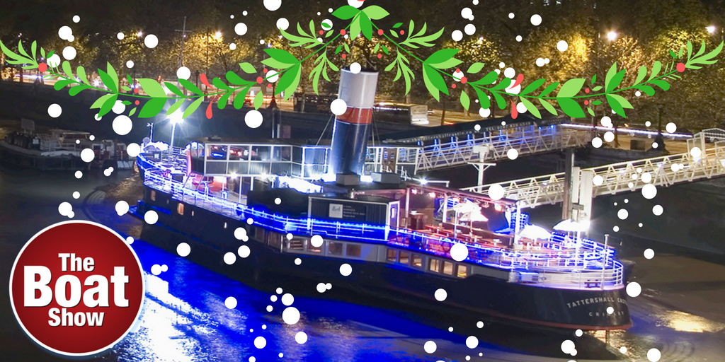 Christmas Boat Party London.Christmas Parties Boatshow Comedy Club