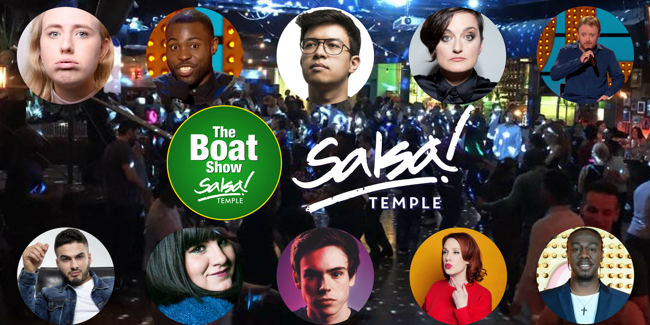 Bar Salsa Boat Show promo image all acts
